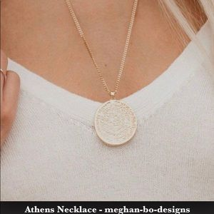 Jewelry - Meghan Bo Designs Gold Necklace